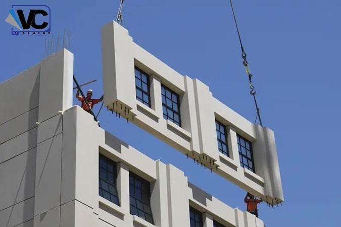 ساخت سازه بتنی نوعی دیگر از روش ساخت ساختمان